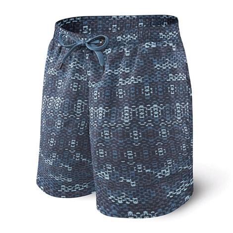 Moške kopalne kratke hlače SAXX Blue Waterfall