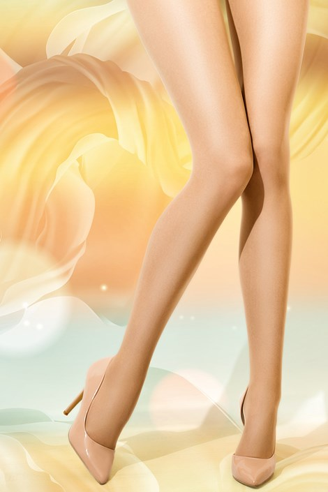 Hlačne nogavice z UV zaščito 12 DEN